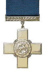 """The George Cross awarded for """"acts of the greatest heroism or of the most conspicuous courage """""""