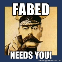 Fabed needs you