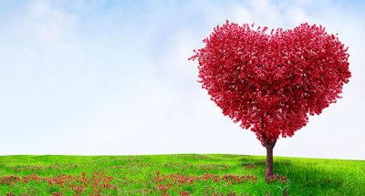 red-heart-tree