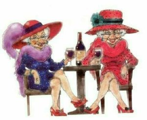 ladies-and-redwine