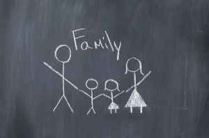 Family on Blackboard-web