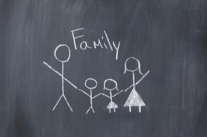 Family on Blackboard-web