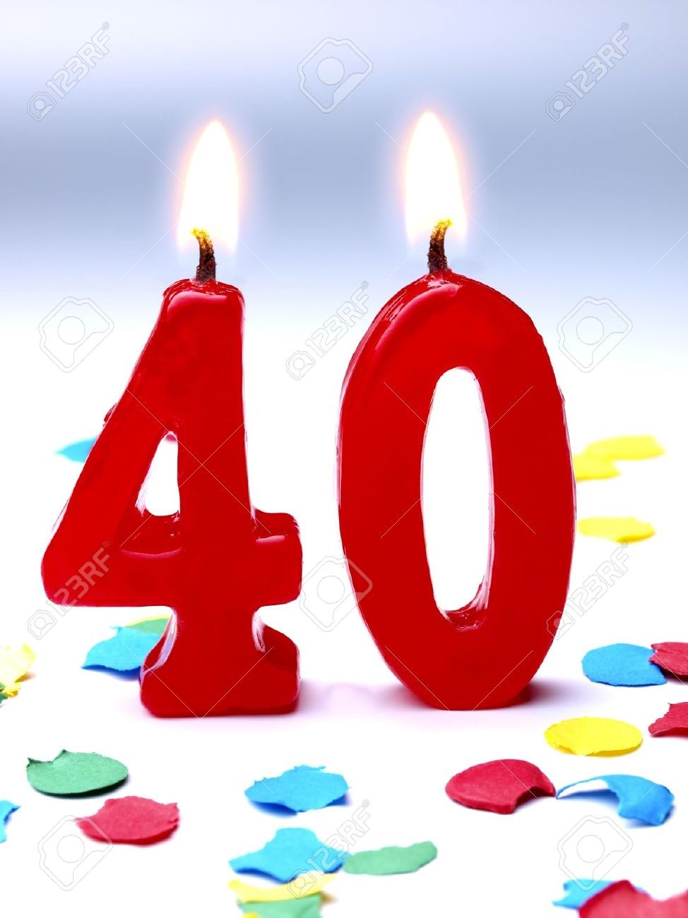 40 Candles 7 Years To Diagnosis